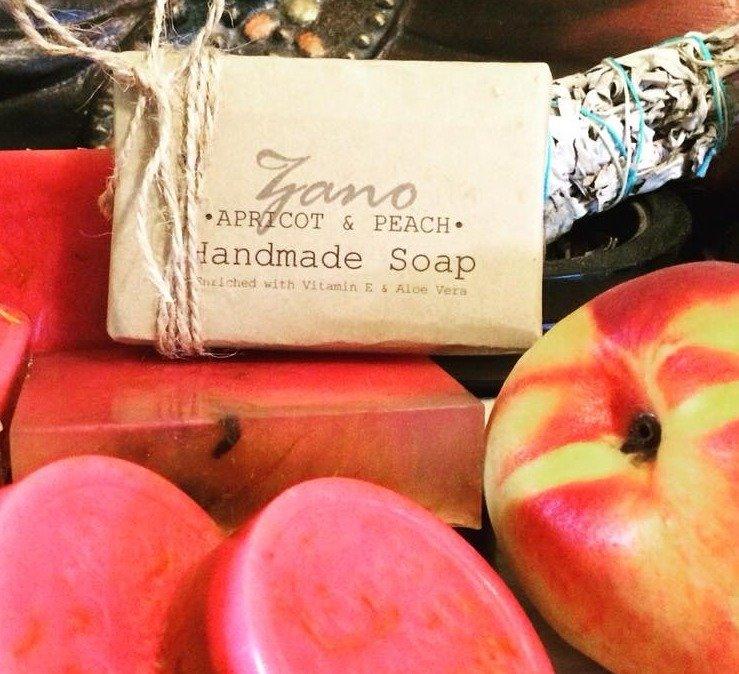 Apricot & Peach Soap