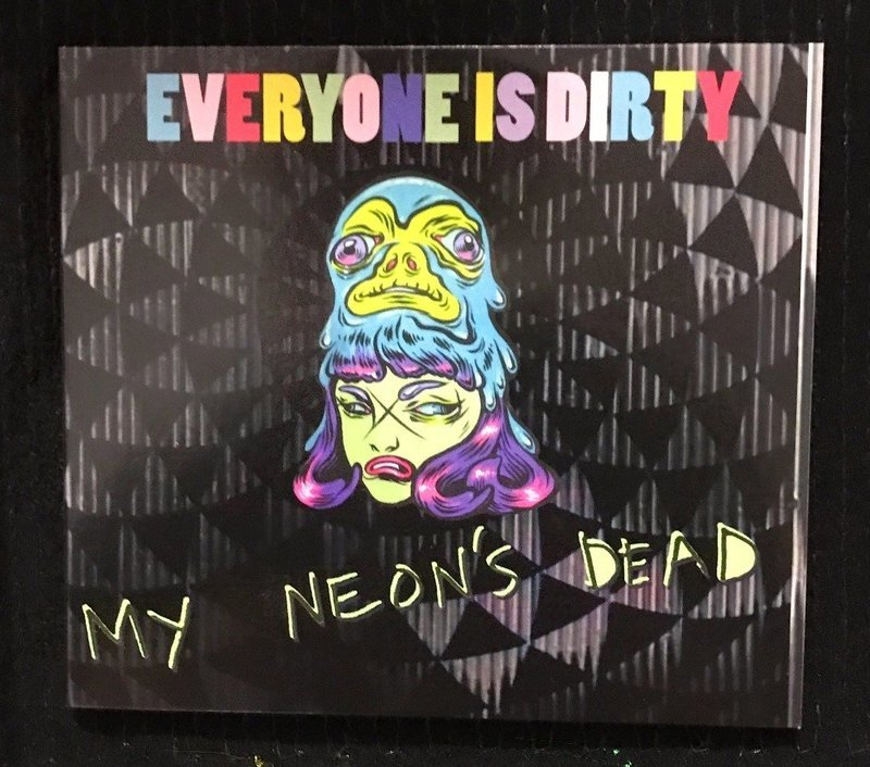 'My Neon's Dead' LP on Compact Disc