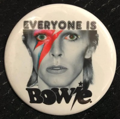 Commemorative Bowie Pin