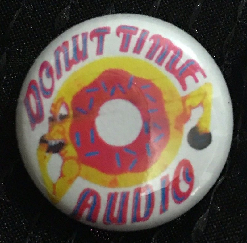 Donut Time Audio Pin