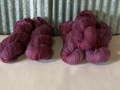 Handspun Wool Sport Yarn