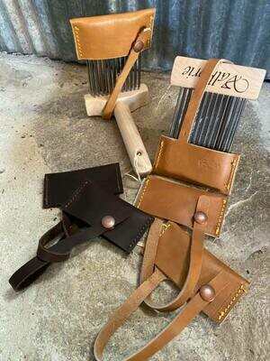 Leather Covers for Valkyrie Mini Size Combs