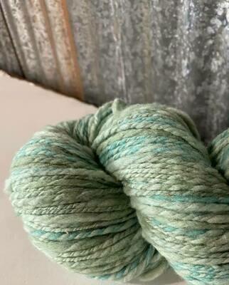 Homegrown Targhee Rambouillet Wool DK  195 yds Handspun yarn