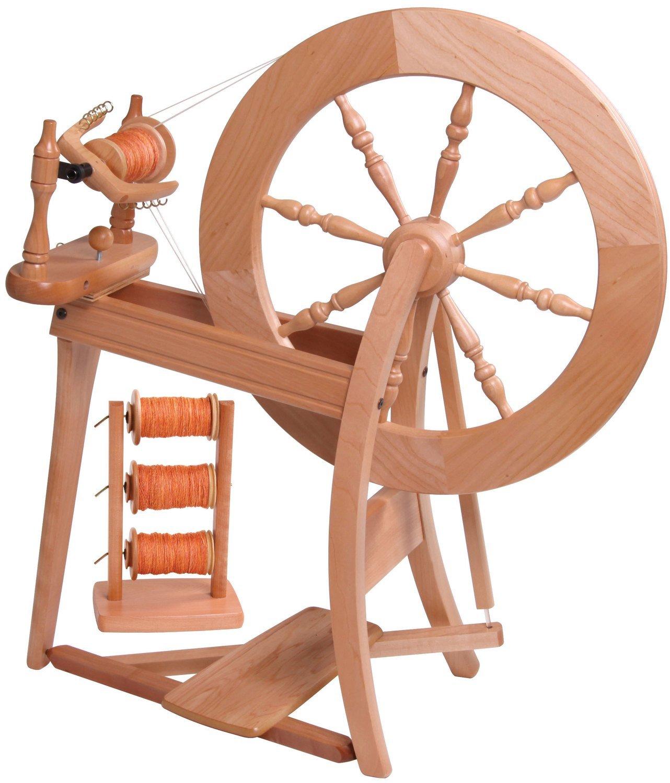 Ashford Traditional Spinning Wheel Natural