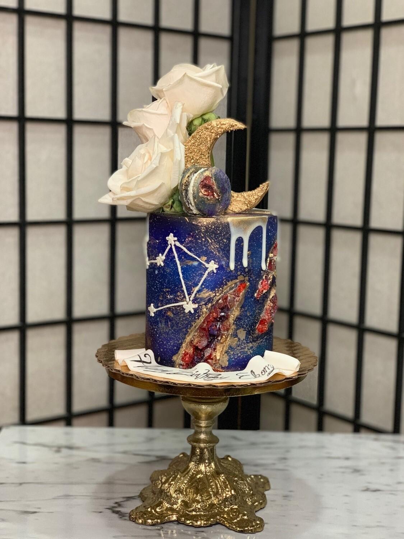 Zodiac Drip Cake
