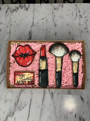 Make Up Cookie Set