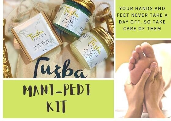 HI-TEA FOOT SCRUB MANI PEDI KIT