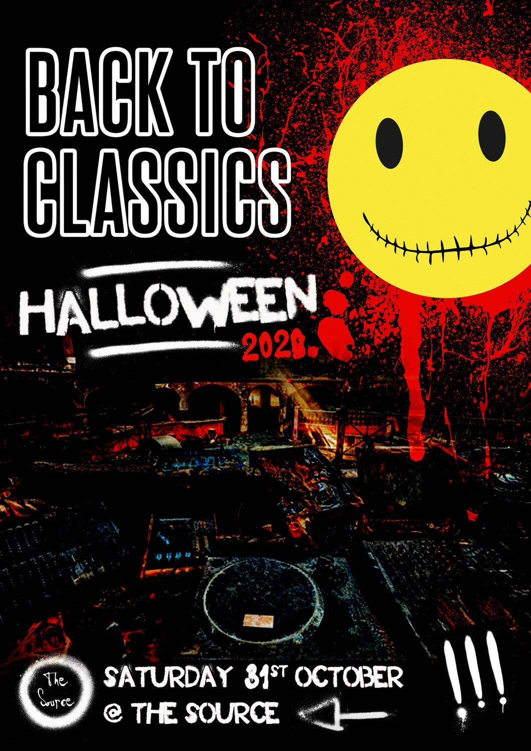 Saturday 31st October 2020 - Back To Classics Halloween Special