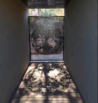 Gate Metal Art Panel (1800 x 1250 mm)