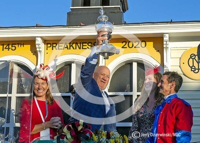 Preakness 2020 Winner's Circle