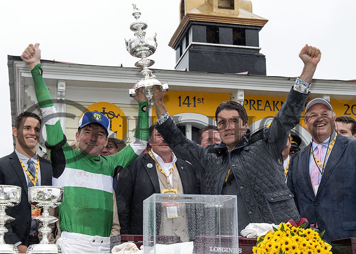 Winner's Circle Celebration