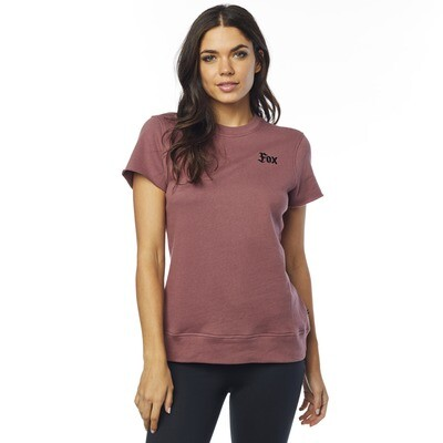 BLUSA  FLAT TRACK CUT OFF CREW FLEECE RSE