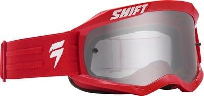 GOGGLES WHIT3 LABEL BLK RD