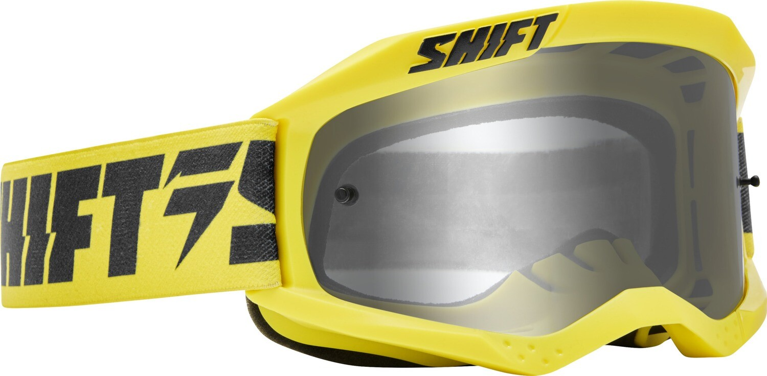 GOGGLES WHIT3 LABEL YLW