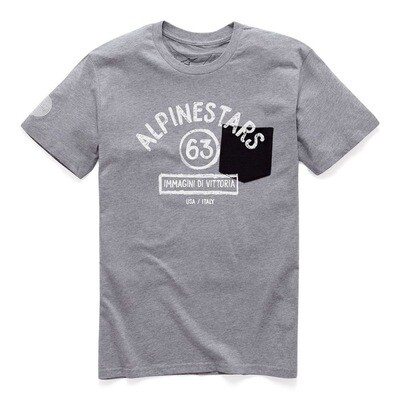 T-shirt Alpinestars Paint Premium Gris