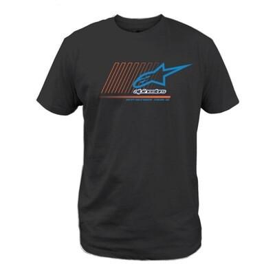 T-shirt Alpinestars Snoker negra