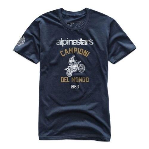 T-shirt Alpinestars Jump Premium Azul