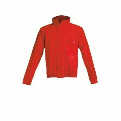 Traje Impermeable Acerbis Rain Logo Rojo
