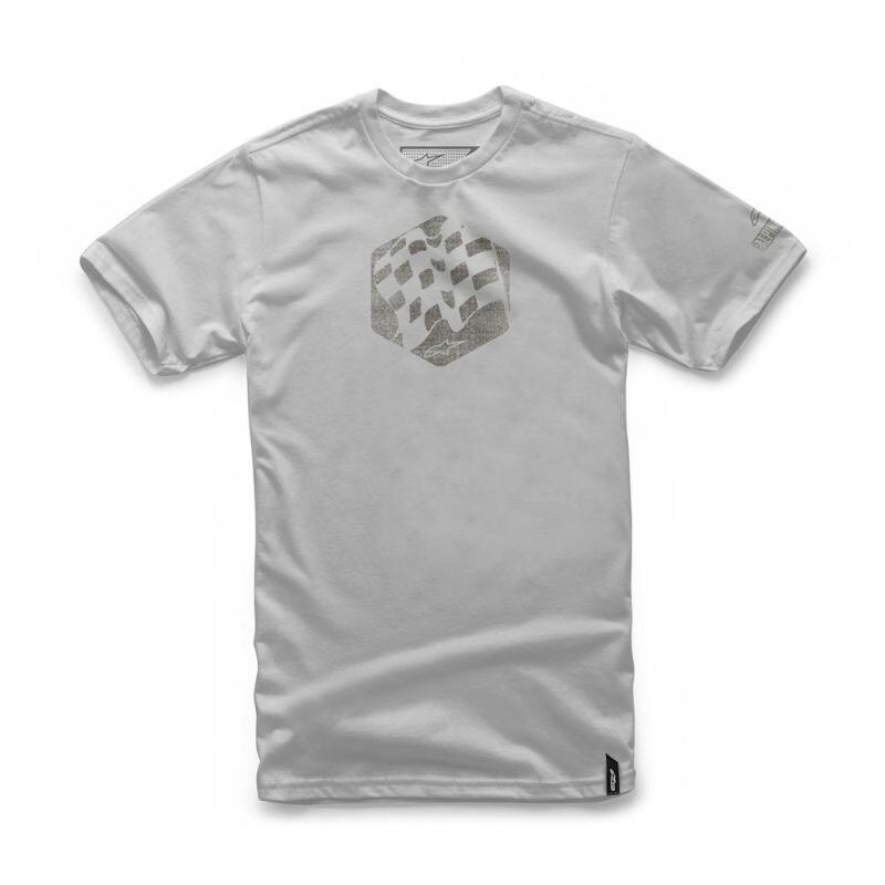 T-shirt Alpinestars Flag gris