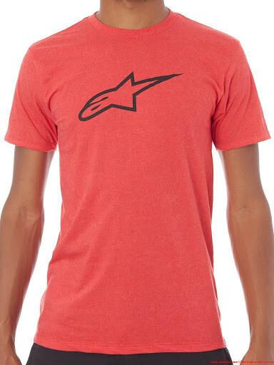 T-shirt Alpinestars Ageless II Roja