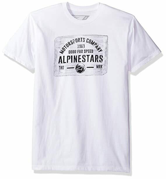 T-shirt Alpinestars Mark Blanca