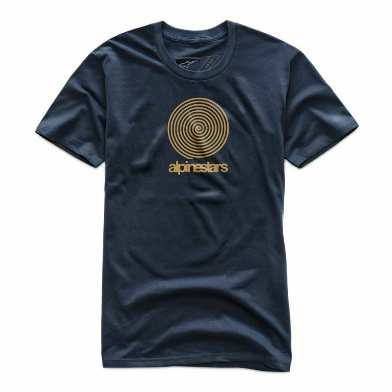 T-shirt Alpinestars Spiral Premium azul