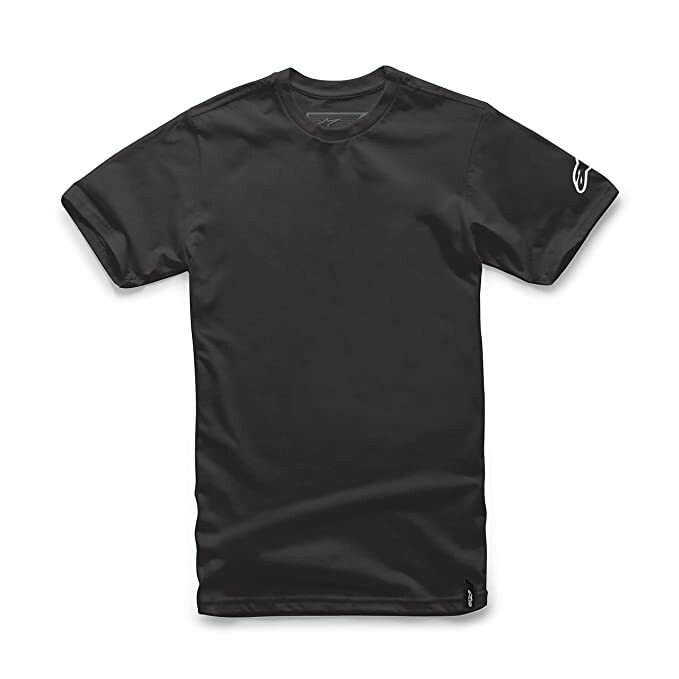 T-shirt Alpinestars Trackside negra