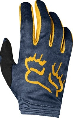 GUANTES  GIRLS DIRTPAW MATA NVY YLW
