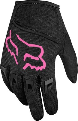 GUANTES KIDS DIRTPAW BLK PNK