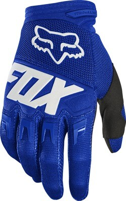GUANTES DIRTPAW RACE BLU WHT