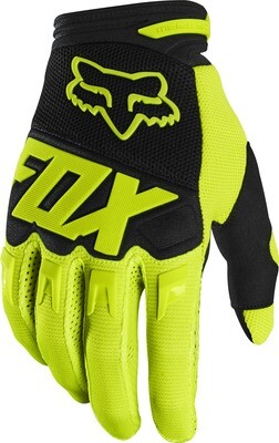 GUANTES DIRTPAW RACE FLO YLW