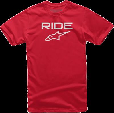 T-Shirt Alpinestars Ride 2.0 Roja / Blanca