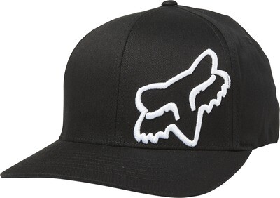 GORRA FOX FLEX 45 BLK WHT