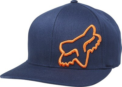 GORRA FOX FLEX 45 NVY ORG
