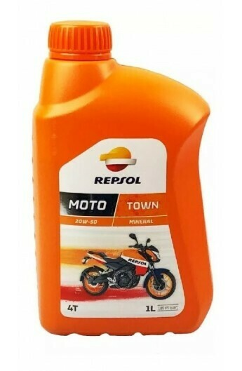 ACEITE REPSOL 4T 20W50 MOTO TOWN  LT