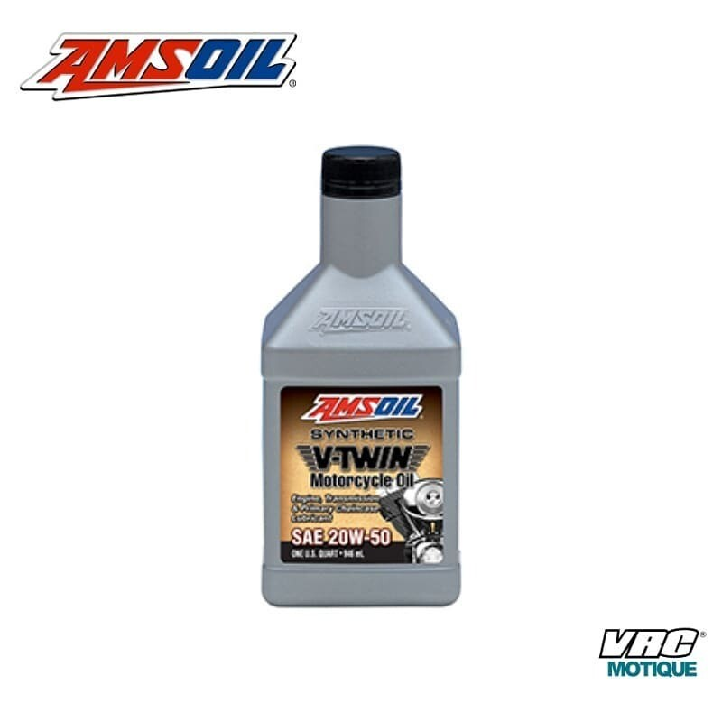 ACEITE AMSOIL V TWIN 20W 50 1LT