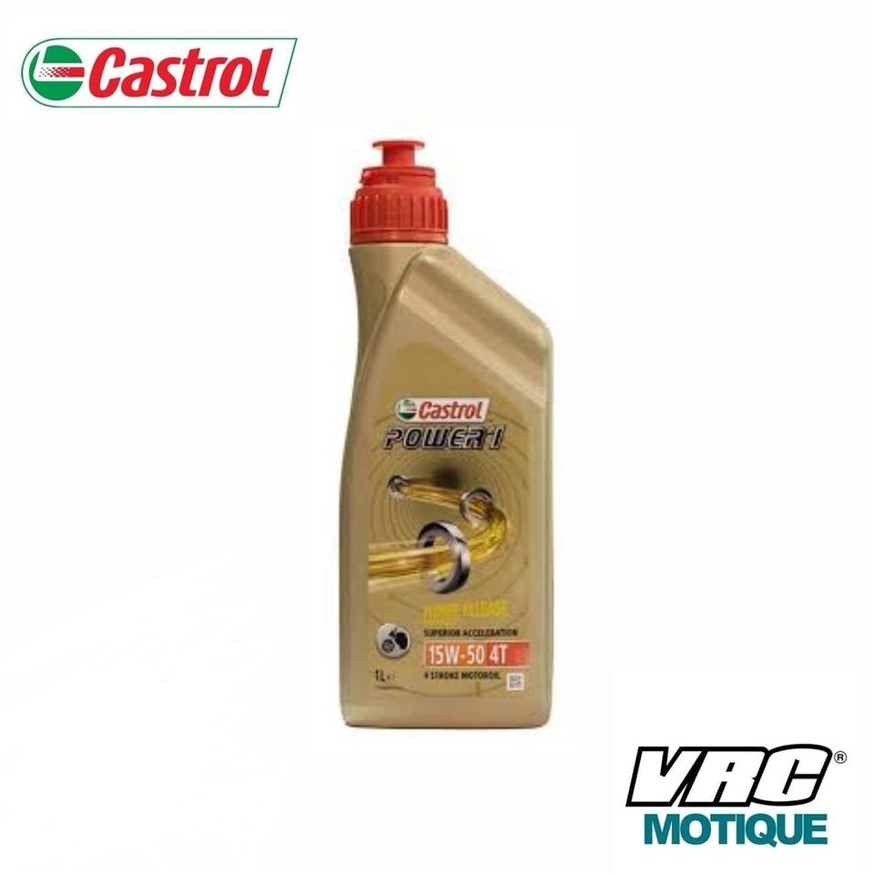 ACEITE CASTROL RACING 4T 10W 40 1LT