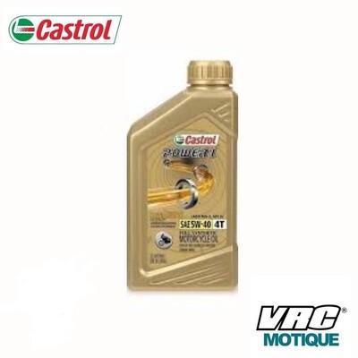 ACEITE CASTROL POWER 1 4T 15W 50 1LT