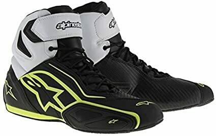 zapatos  Alpinestars Faster-2 Negros/ Amarillo Fluo