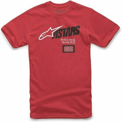 T-Shirt Alpinestars Title Roja