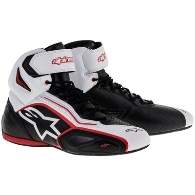 Zapatos Alpinestars Faster-2 Blanco Rojos