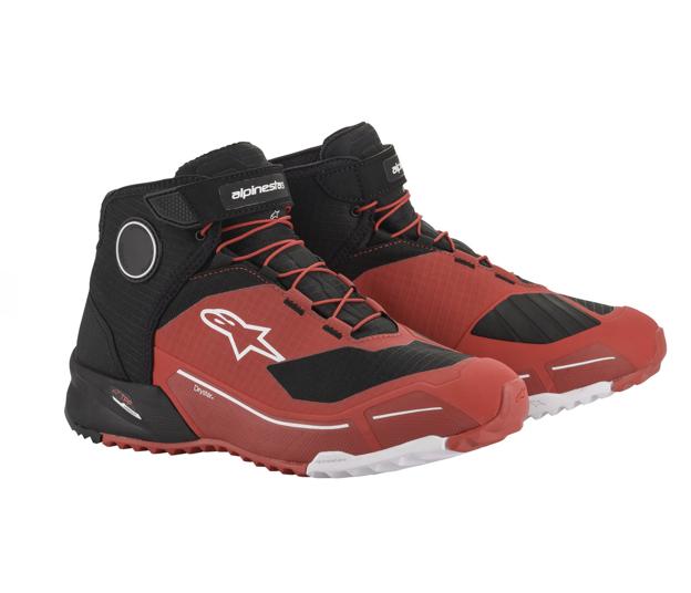 Botines Alpinestars CR-X Drystar Negro / Rojo
