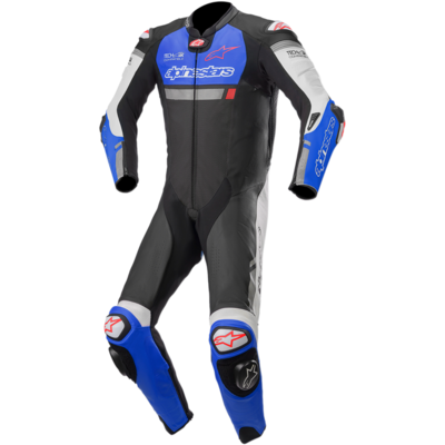 Traje Alpinestars Missile Ignition for Tech-Air Negro / Azul / Blanco.