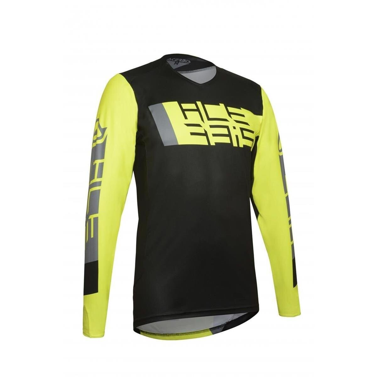 JERSEY MX OUTRUN BLK YLW