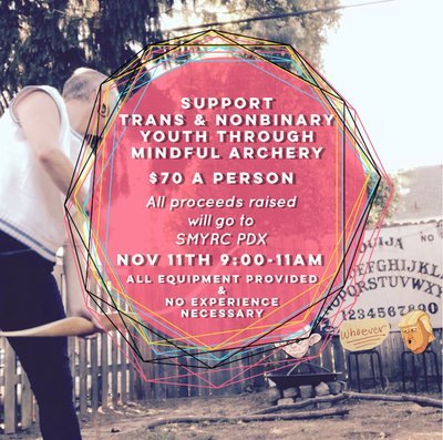 Archery Fundraiser For Tans & Nonbinary Youth