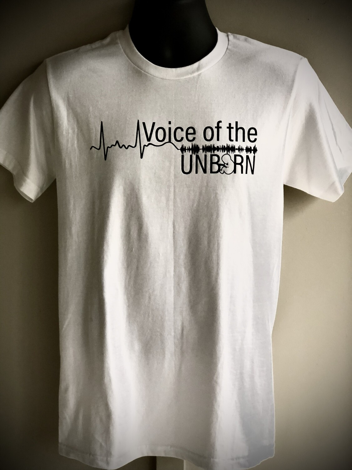 Voice of the Unborn (T-Shirt is Available in White, Red, and Black)