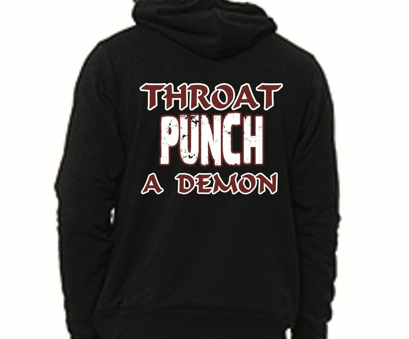 Throat Punch a Demon (Hoodie)