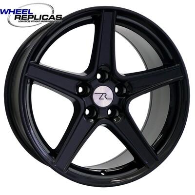 18x10 Gloss Black Saleen Style Replica Wheel