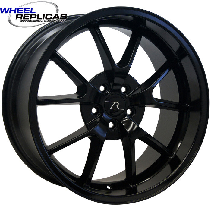 18x10 Full Gloss Black FR500 Style Replica Wheel