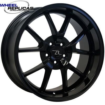 18x10 Full Gloss Black FR500 Style Replica Wheel